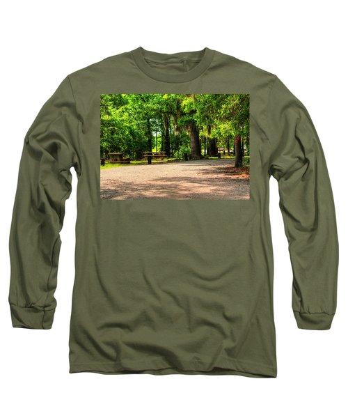 Long Sleeve T-Shirt featuring the photograph A Place For Picnic by Ester  Rogers