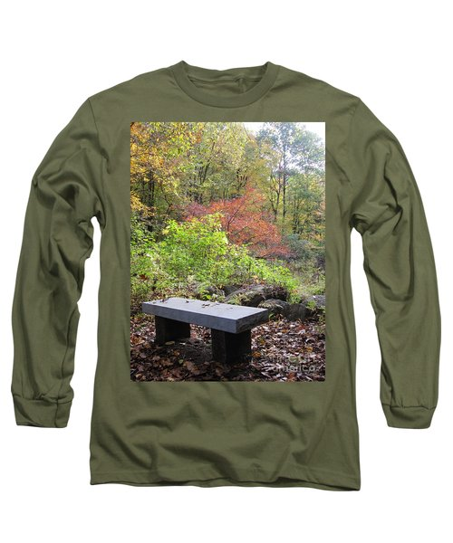 A Place To Think II Long Sleeve T-Shirt