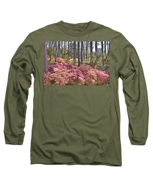 A Quiet Spot In The Woods Long Sleeve T-Shirt by Gordon Elwell