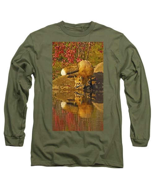 A Real Fox Long Sleeve T-Shirt