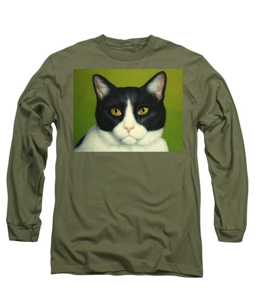 A Serious Cat Long Sleeve T-Shirt