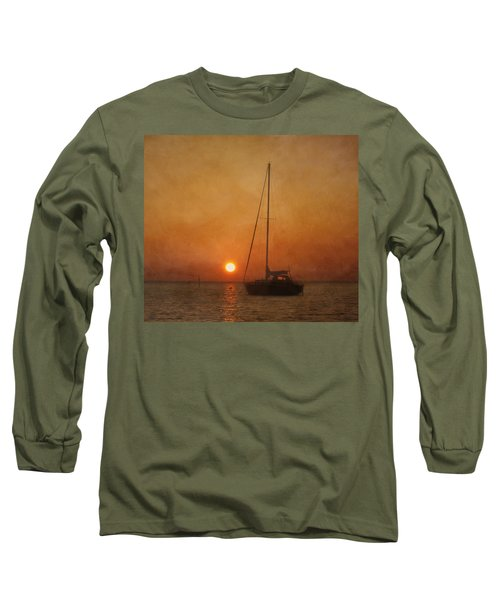A Ship In The Night Long Sleeve T-Shirt