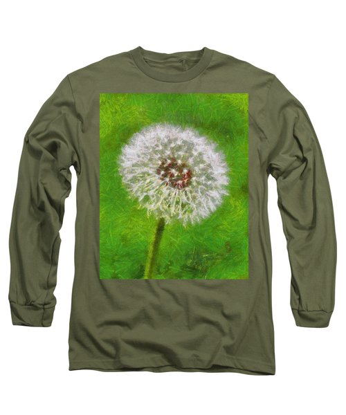 Long Sleeve T-Shirt featuring the painting A Simple Beauty by Joe Misrasi
