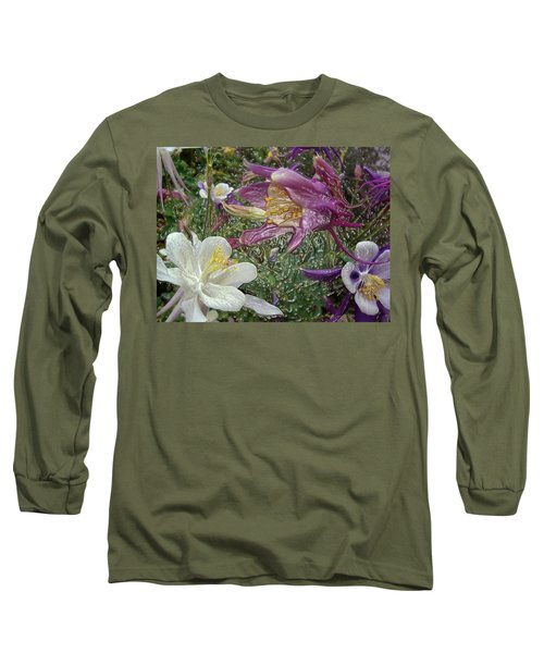a taste of dew i do and PCC  garden too     GARDEN IN SPRING MAJOR Long Sleeve T-Shirt