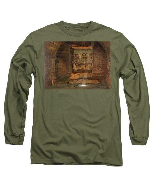 A Tomb At El-kab, One Of 24 Long Sleeve T-Shirt