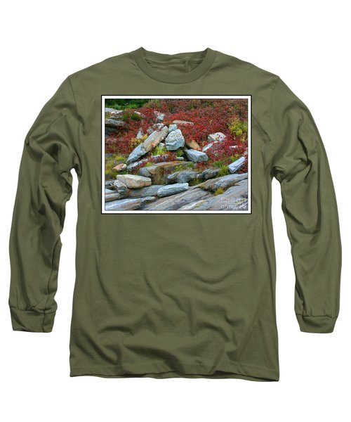 A Touch Of Color Long Sleeve T-Shirt by Mariarosa Rockefeller