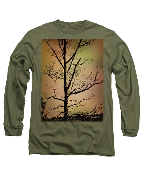 A Tree By The Lake Long Sleeve T-Shirt