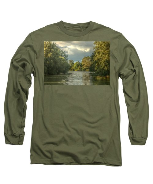 A View Down The Lake Long Sleeve T-Shirt