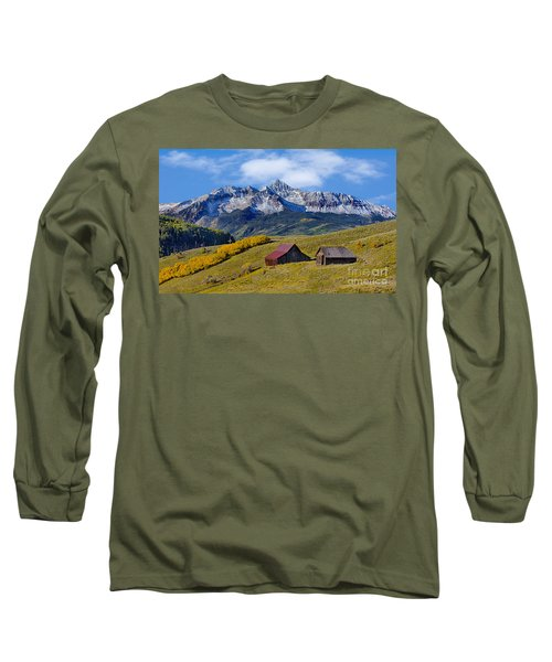 A View From Last Dollar Road Long Sleeve T-Shirt by Jerry Fornarotto