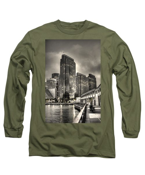 A Walk On The Embarcadero Waterfront Long Sleeve T-Shirt