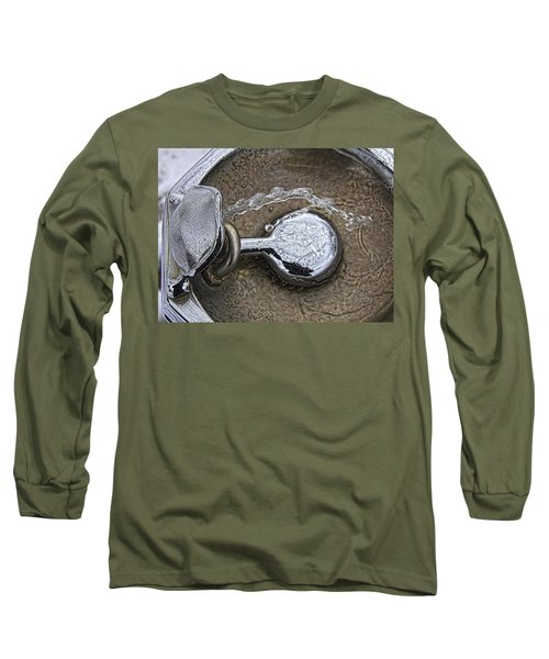 A Winter Drink Of Water Long Sleeve T-Shirt