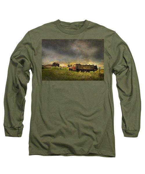 Abandoned Farm Truck Long Sleeve T-Shirt