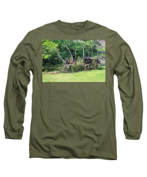 Long Sleeve T-Shirt featuring the photograph Abandoned by Gordon Elwell
