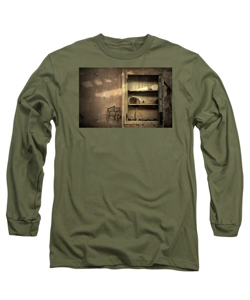 Abandoned Kitchen Cabinet Long Sleeve T-Shirt by RicardMN Photography