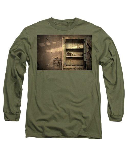 Abandoned Kitchen Cabinet Long Sleeve T-Shirt