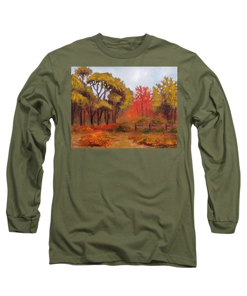 Abeel Fields Long Sleeve T-Shirt by Jason Williamson