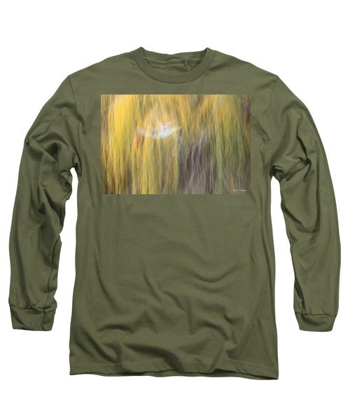 Long Sleeve T-Shirt featuring the photograph Abstract Haze by Amy Gallagher