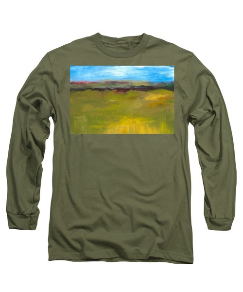 Abstract Landscape - The Highway Series Long Sleeve T-Shirt