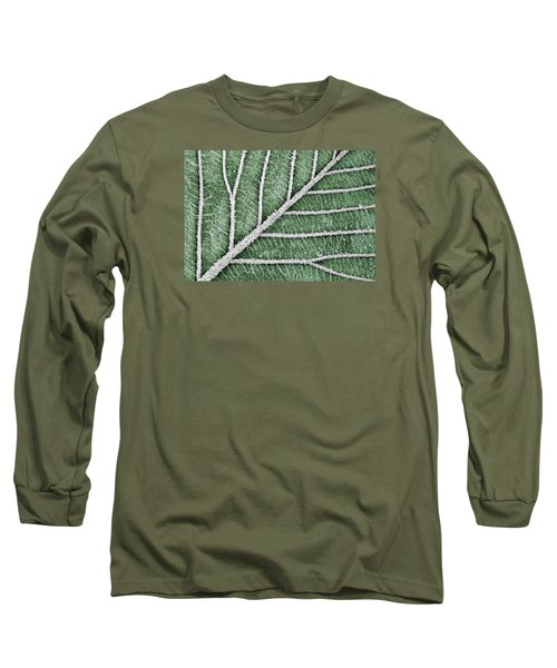 Abstract Leaf Art Long Sleeve T-Shirt