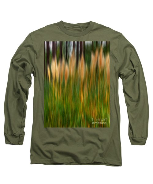 Abstract Of Movement Long Sleeve T-Shirt