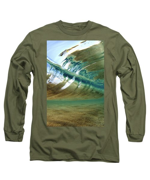Abstract Underwater 2 Long Sleeve T-Shirt by Vince Cavataio - Printscapes