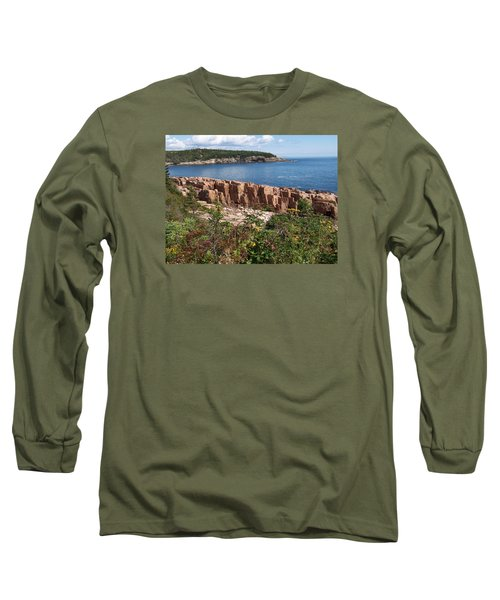 Acadia Maine Long Sleeve T-Shirt by Catherine Gagne