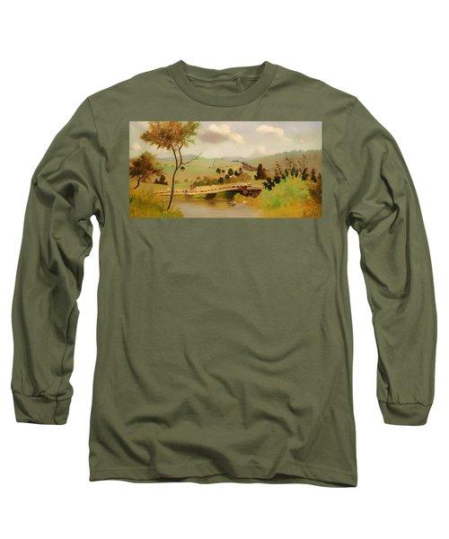 Adirondacks Bridge For Fishing Long Sleeve T-Shirt