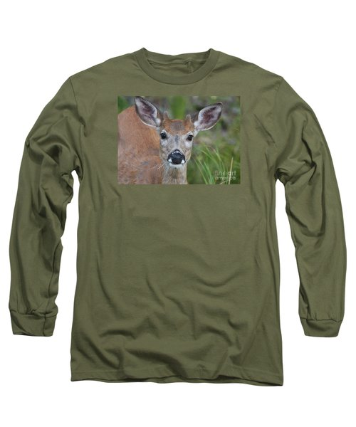Adolescent Curiosity Long Sleeve T-Shirt