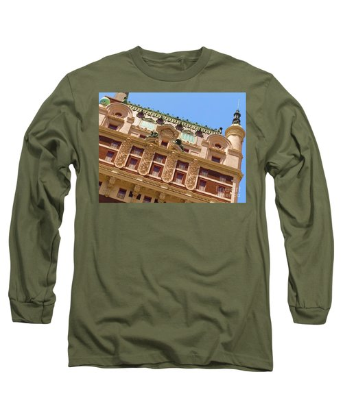 Long Sleeve T-Shirt featuring the photograph Adolphus Hotel - Dallas #1 by Robert ONeil