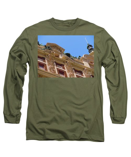 Long Sleeve T-Shirt featuring the photograph Adolphus Hotel - Dallas #2 by Robert ONeil
