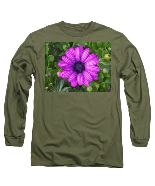 Long Sleeve T-Shirt featuring the photograph African Beauty by Belinda Lee
