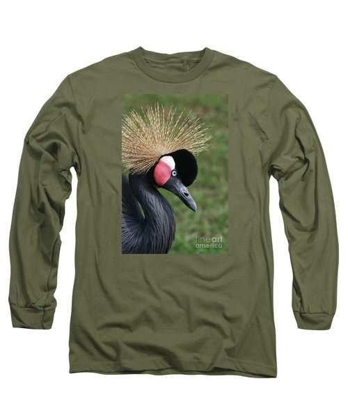 African Crowned Crane #2 Long Sleeve T-Shirt