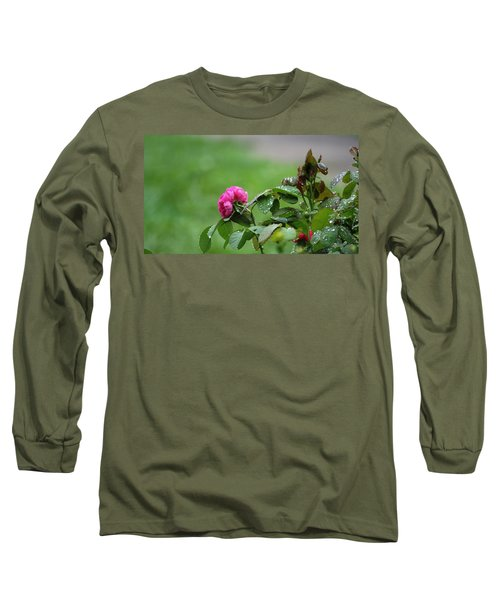 After The Rain Long Sleeve T-Shirt by Stacy C Bottoms