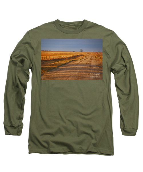 Afternoon Shadows Long Sleeve T-Shirt