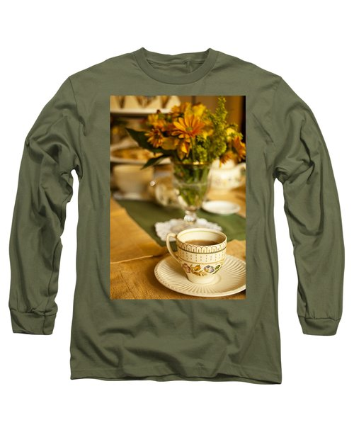 Long Sleeve T-Shirt featuring the photograph Afternoon Tea Time by Andrew Soundarajan