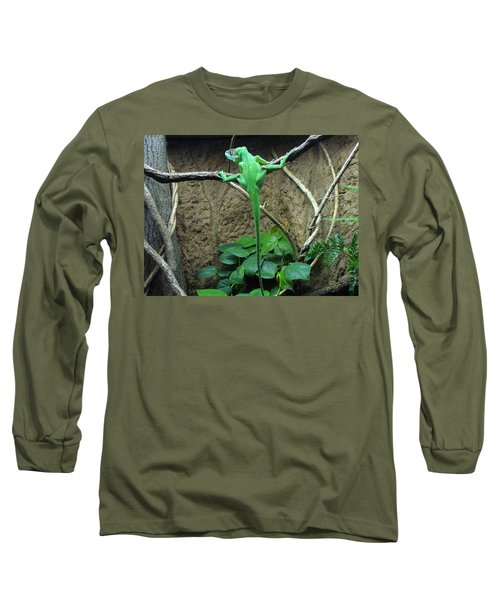 Long Sleeve T-Shirt featuring the photograph Afternoon Workout by Lingfai Leung