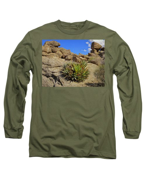 Long Sleeve T-Shirt featuring the photograph Against The Odds by Michael Pickett