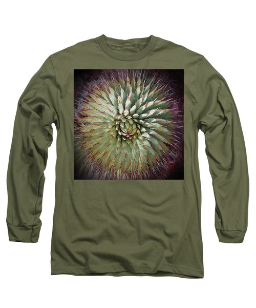 Agave Spikes Long Sleeve T-Shirt