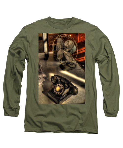 Air Conditioned Office  Long Sleeve T-Shirt