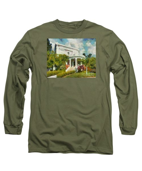Alameda 1896-97 Colonial Revival Long Sleeve T-Shirt by Linda Weinstock