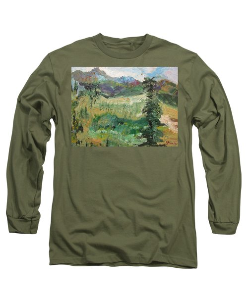 Alaskan Landscape Long Sleeve T-Shirt