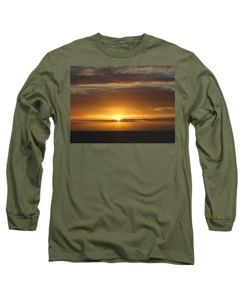 Long Sleeve T-Shirt featuring the photograph Alaskan Sunset by Jennifer Wheatley Wolf