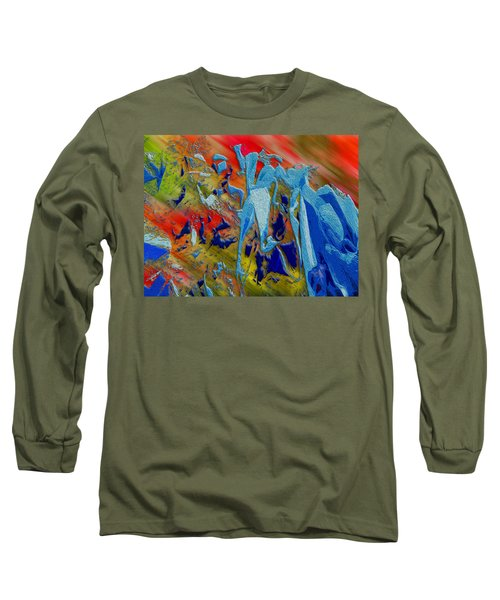 All Dat Jazz Long Sleeve T-Shirt by Paul Wear