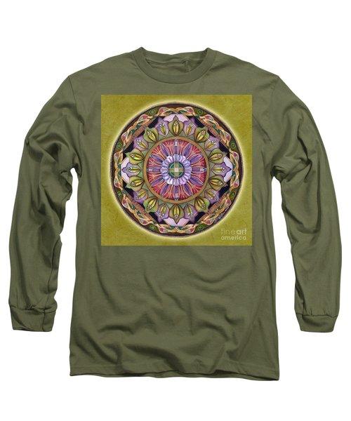 All Is Well Mandala Long Sleeve T-Shirt