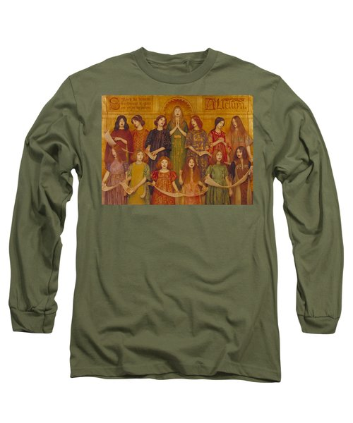 Alleluia Long Sleeve T-Shirt by Thomas Cooper Gotch