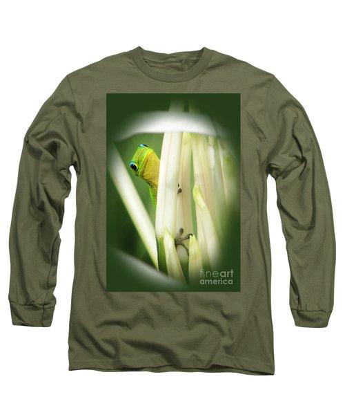 Long Sleeve T-Shirt featuring the photograph Aloha by Ellen Cotton