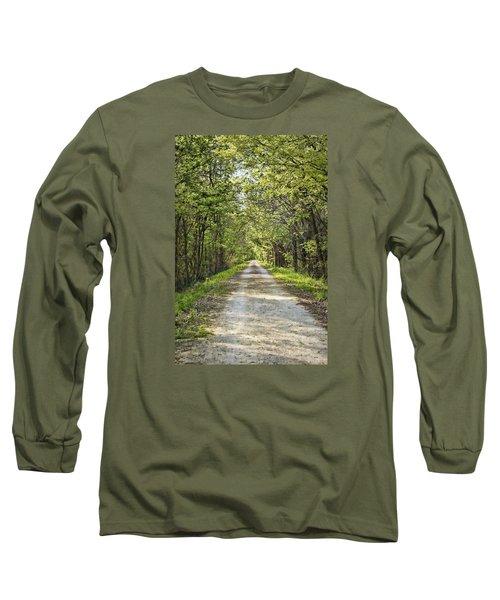 Along The Katy Trail Long Sleeve T-Shirt