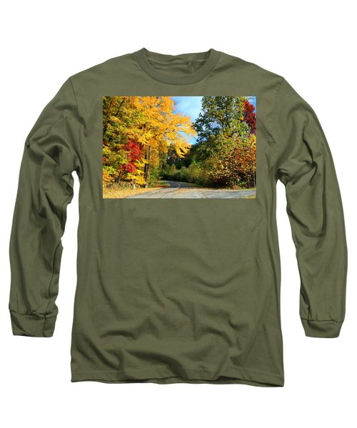 Long Sleeve T-Shirt featuring the photograph Along The Road 2 by Kathryn Meyer