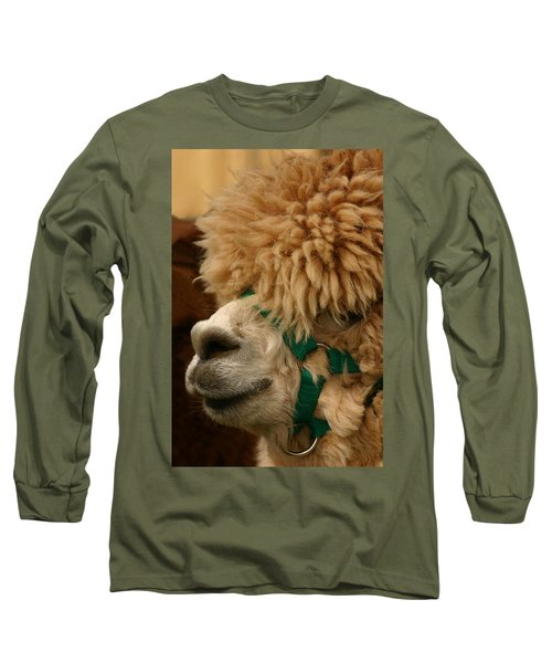 Alpaca Long Sleeve T-Shirt