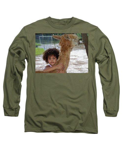 Alpaca Love Long Sleeve T-Shirt